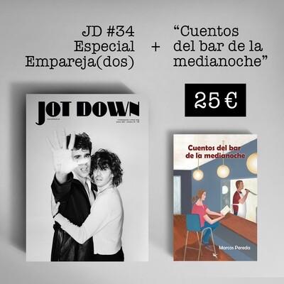 Jot Down nº 34 «Empareja(dos)» + Cuentos del bar de la medianoche