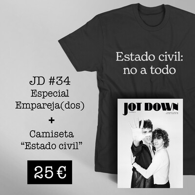 Jot Down nº 34 «Empareja(dos)» + Camiseta «Estado civil»