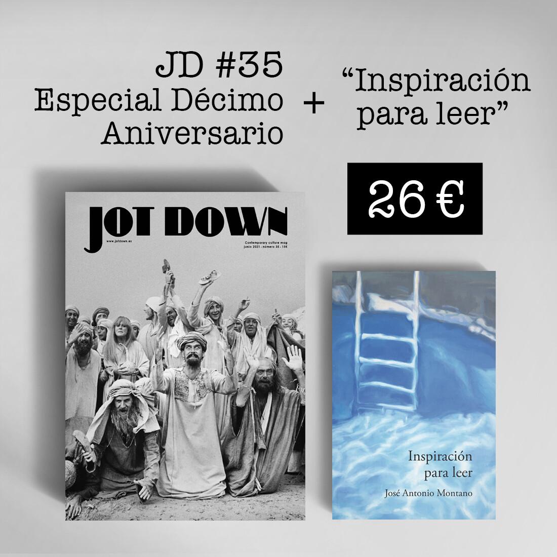 Jot Down nº 35 «10º Aniversario» + Inspiración para leer