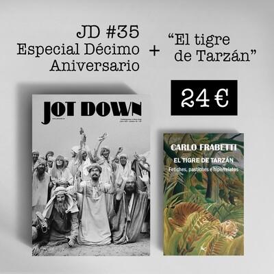 Jot Down nº 35 «10º Aniversario» + El tigre de Tarzán