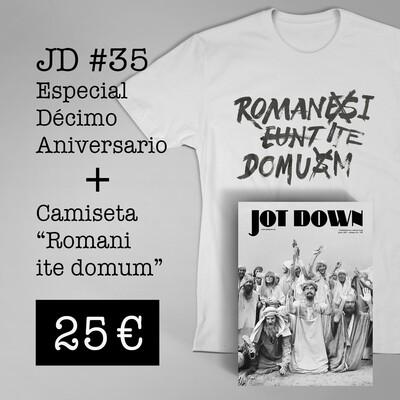 Jot Down nº 35 «10º Aniversario» + Camiseta «Romani Ite Domum»