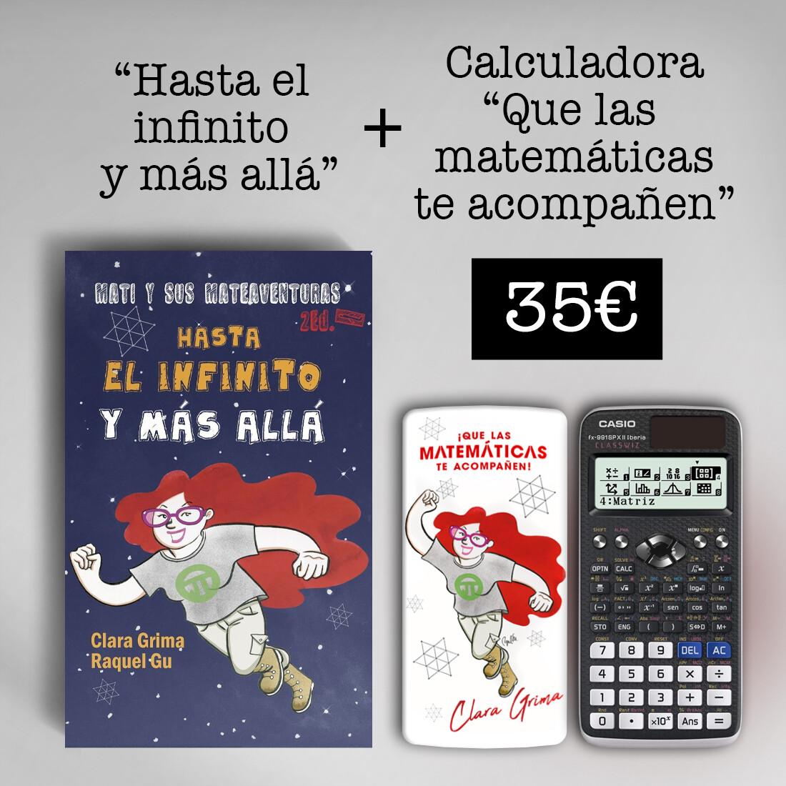 Calculadora CASIO fx-991SPXII + Hasta el infinito y más allá
