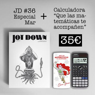 Jot Down nº 36 «Mar» + Calculadora Clara Grima