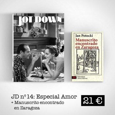 Jot Down nº14 «Amor» + Manuscrito encontrado en Zaragoza