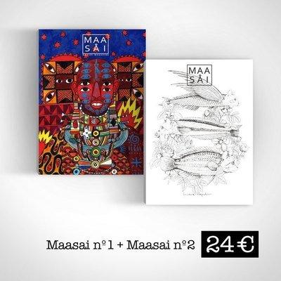 Maasåi Magazine #1 + #2