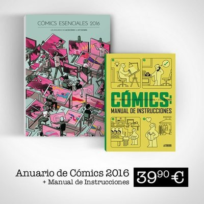 Cómics Esenciales 2016 (Libro + ebook) + Cómics: manual de instrucciones