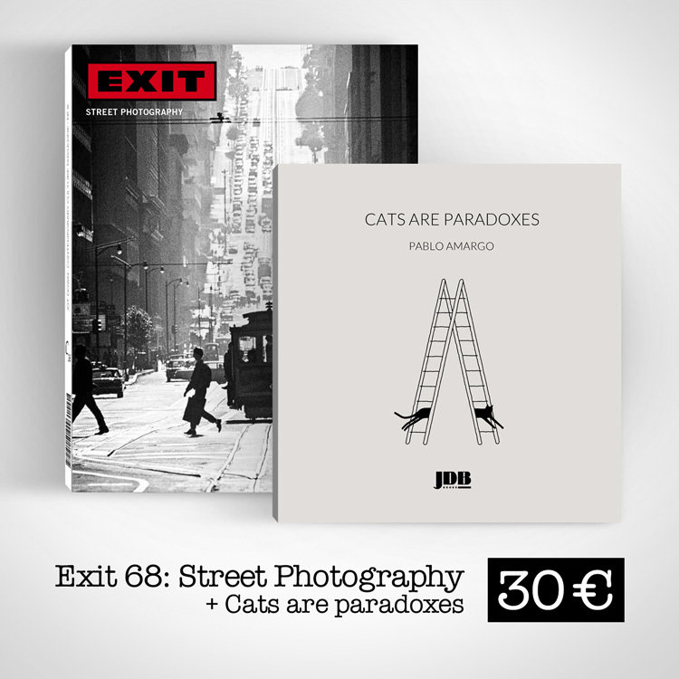 Exit #68 / Street Photography + Cats are paradoxes