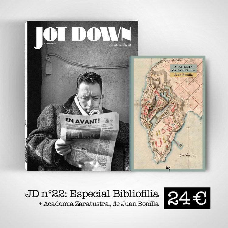 Jot Down nº22 Bibliofilia + Academia Zaratustra