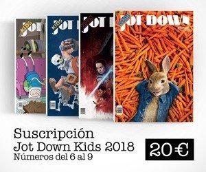 Suscripción Jot Down Kids 2018 (nº6 al nº 9)
