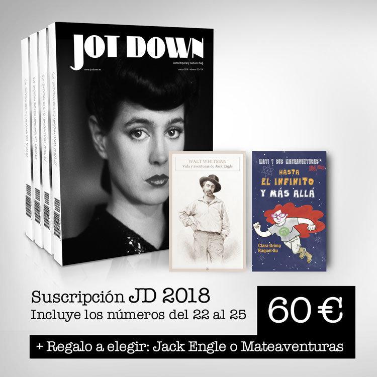 Suscripción 2018 (nº 22 al nº25)