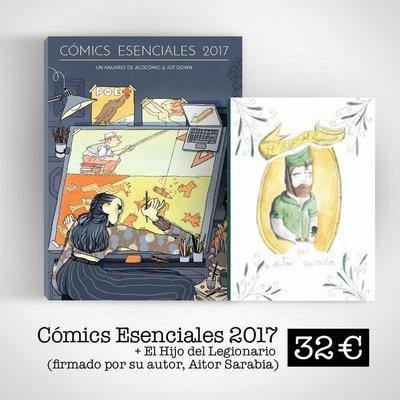 Cómics Esenciales 2017 (Libro + ebook) + El hijo del legionario