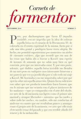 Carnets de Formentor nº 3