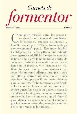 Carnets de Formentor nº 2