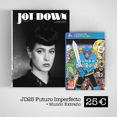 Jot Down nº25 Futuro imperfecto + Mundo Extraño