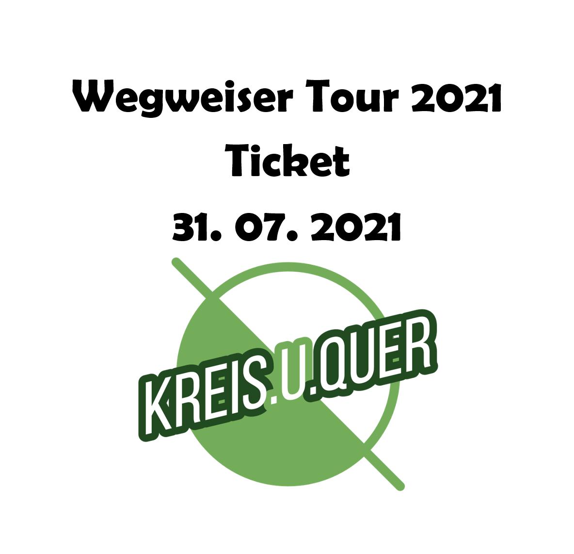 Konzertticket 31.7.2021 @Bühnenwirt Mayer