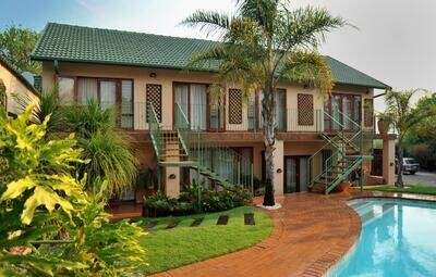 South Africa new year   Claires of Sandton Guest house ★★★★  Flights included