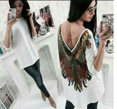 TRICOU OVERSIZE WINGS