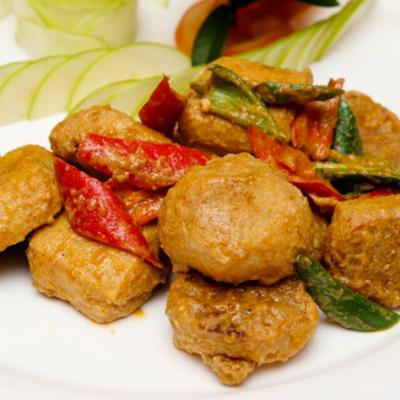 金沙酿豆腐