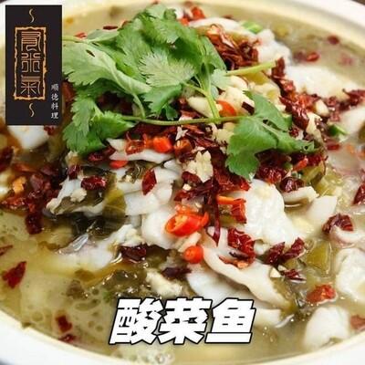 酸菜金凤鱼(2至3人份)