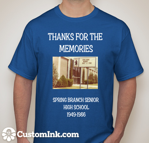 Commemorative SBSHS T-Shirt