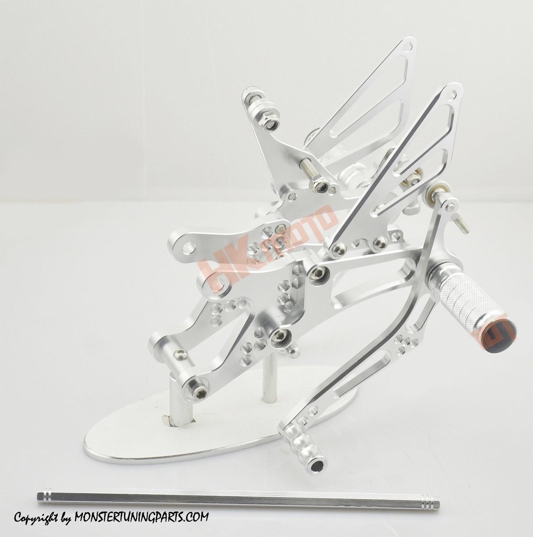 PEDANE ARRETRATE YAMAHA YZF R1 99-03 REAR SET FOOTPEGS