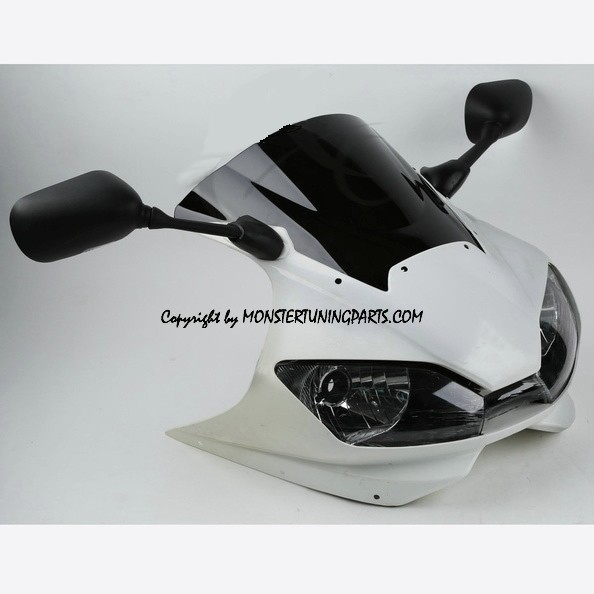 SET FRONTALE COMPLETO - COMPLETE NOSE SET YAMAHA YZF R6 01-02