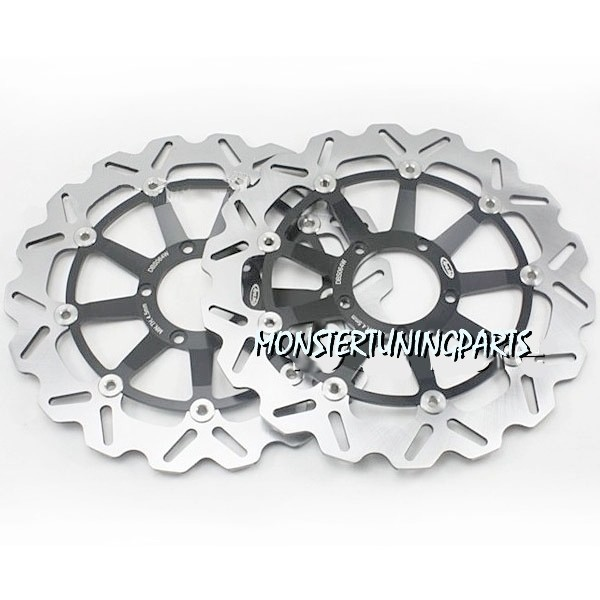 DISCHI ANTERIORI FRENO DUCATI 749-999-848-MONSTER - FRONT BRAKE DISC