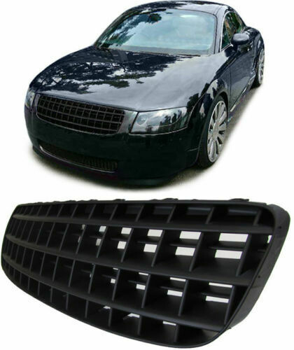 Sport Grill grille without emblem Black for Audi TT 8N 98-06