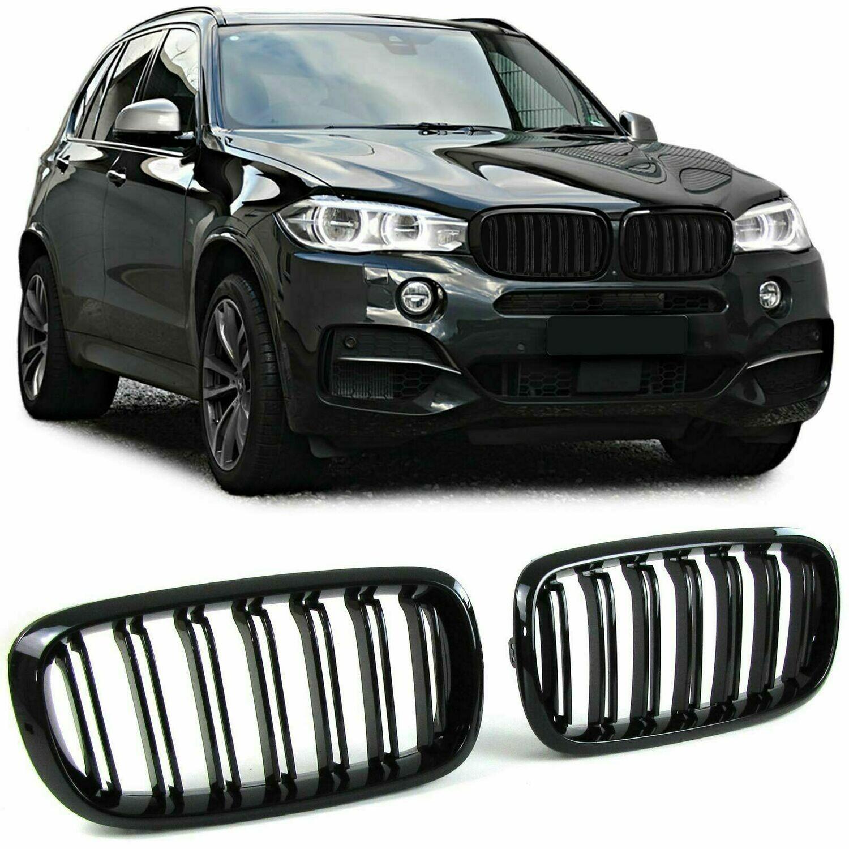 Sport Grill BLACK GLOSS for BMW X5 F15 X6 F16 13-18 M-LOOK