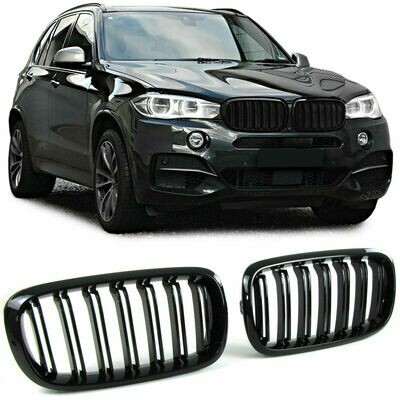 Sport Grill BLACK GLOSS for BMW X5 F15 X6 F16 13-18 M-LOOK