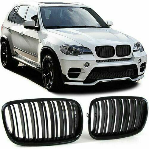 Sport Grill BLACK GLOSS for BMW X5 E70 X6 E71 06-14 M-LOOK