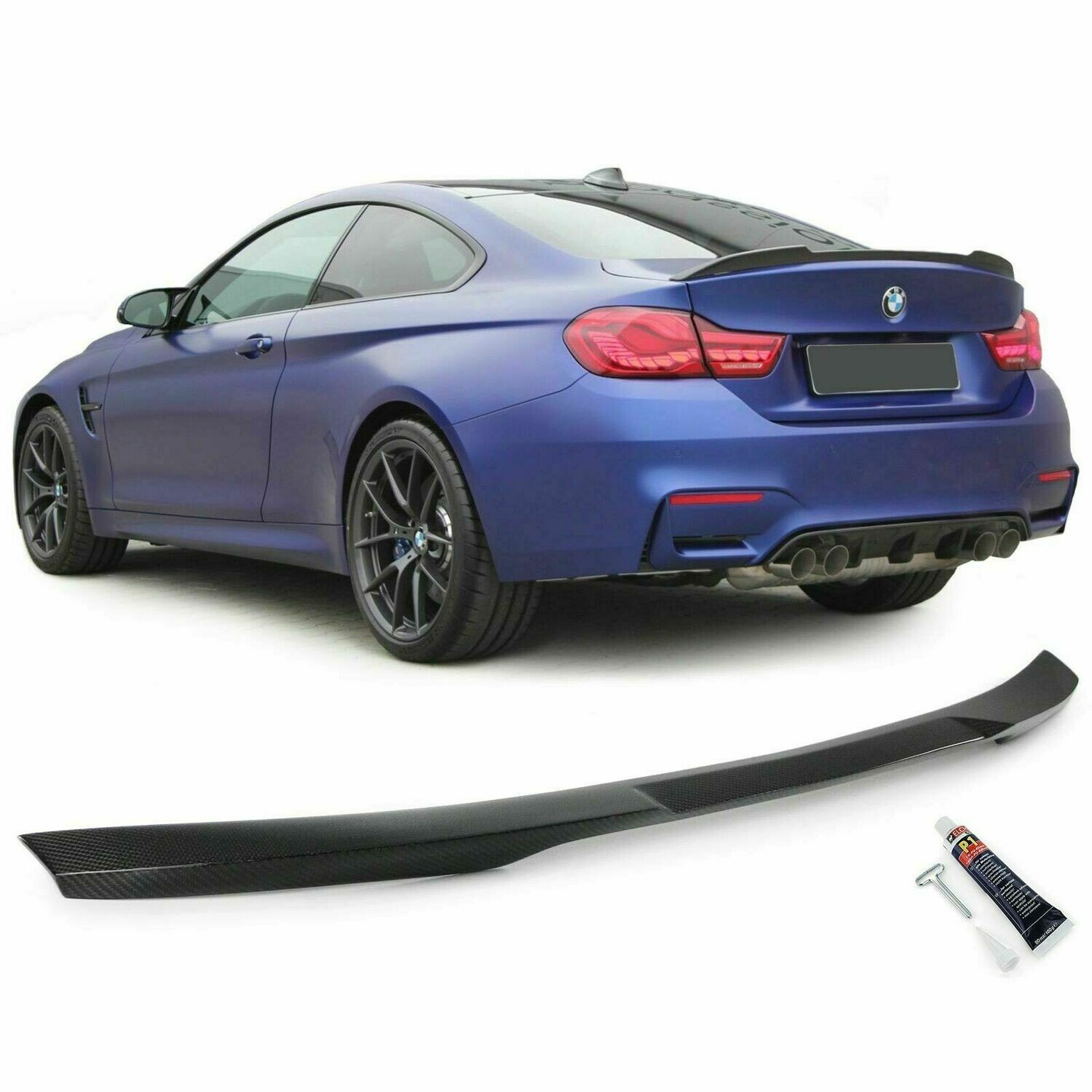 Rear boot Carbon spoiler for BMW F32 2013 Series 4 Sport Look