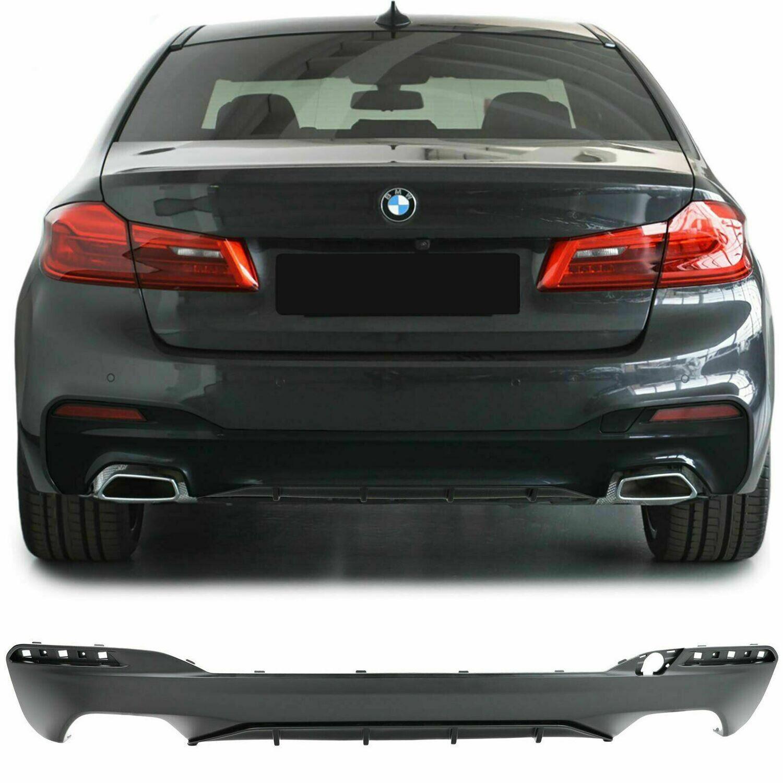 Rear Diffuser Black MATT for BMW G30 G38 2016 Series 5
