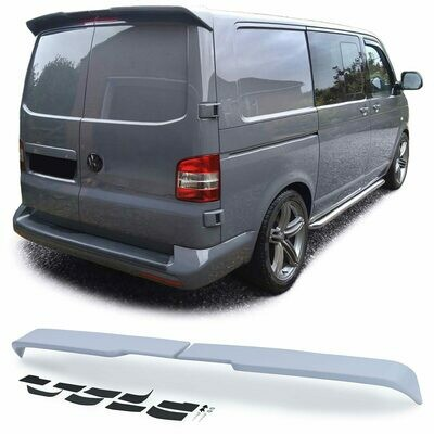 Rear boot spoiler for VW BUS T6 T6.1 2015 2 Back doors