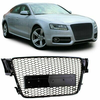 Sport Grill BLACK GLOSS for AUDI A5 8T 07-11 NEW