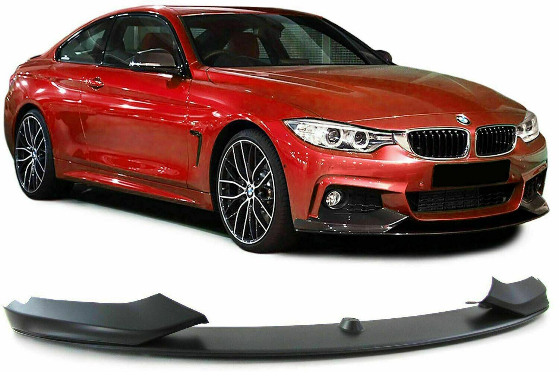 Front Splitter BLACK MATT for BMW F32 13-19 COUPE Series 4