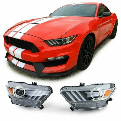 Front Headlights for FORD MUSTANG 6 BI-XENON 14-17 NEW