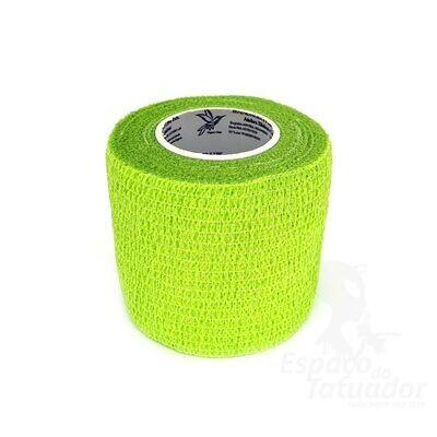 Bandagem Elástica adesiva cor Grass Green 5cm x 4,5m