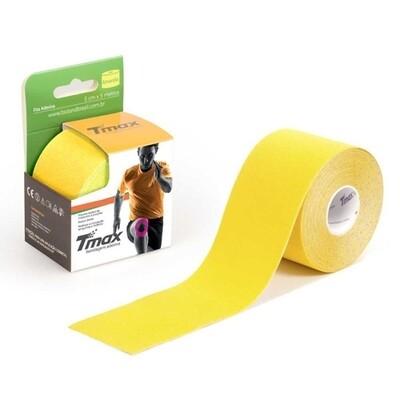 Tmax Fita de Kinésio Bandagem Funcional 5 cm x 5 m Cor: Amarela