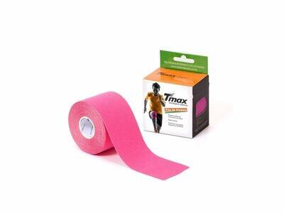 Tmax Fita de Kinésio Bandagem Funcional 5 cm x 5 m Cor: Rosa