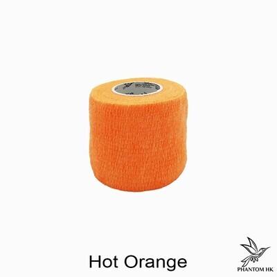 Bandagem Phantom - 5cm x 4,5m Esticado - Lisa - Hot Orange