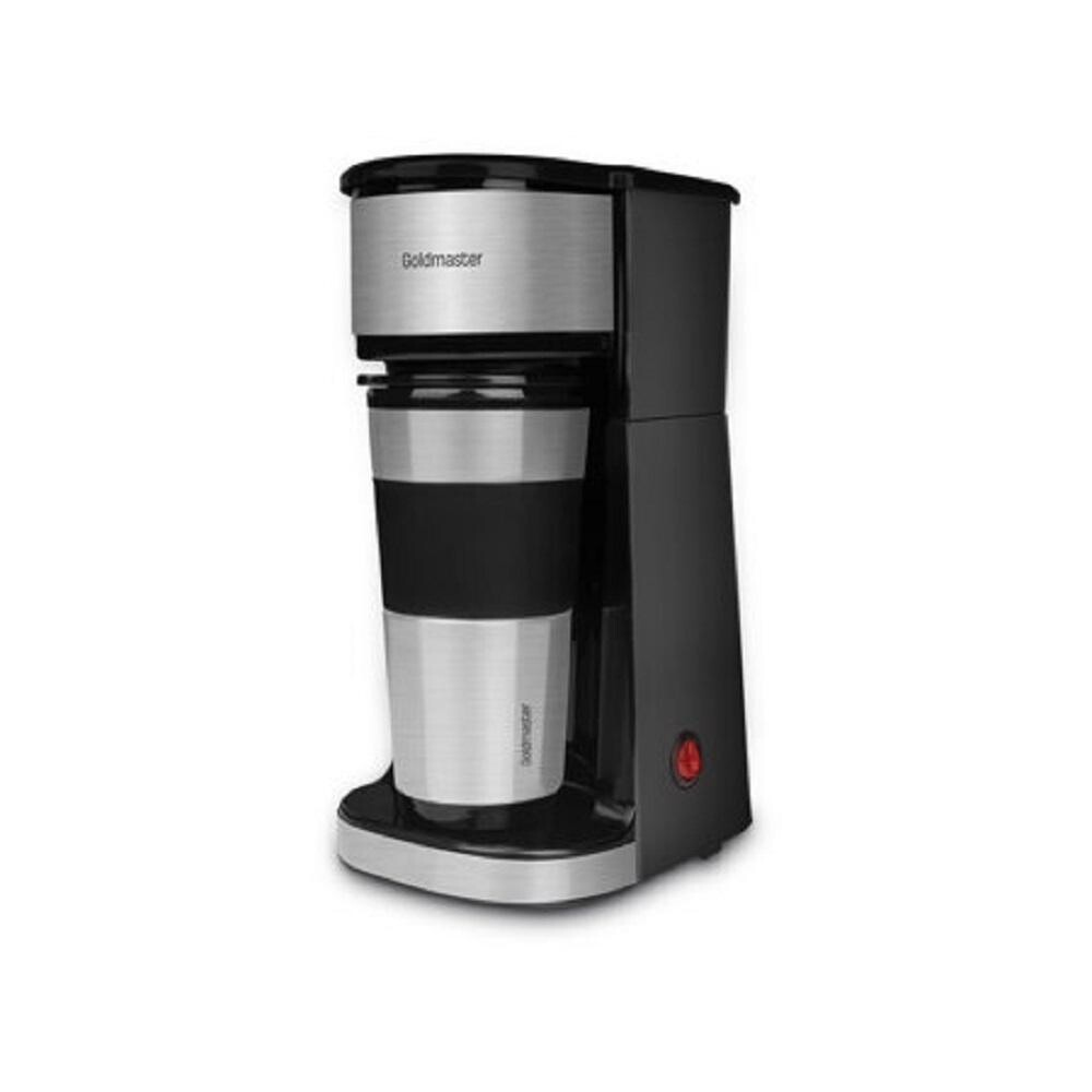 Goldmaster GM-7351 Passion Filter Coffee Machine, Easy to Clean, Waterless Work Safety, Fast Coffee in 4 minutes, 450 ml Water Reservoir