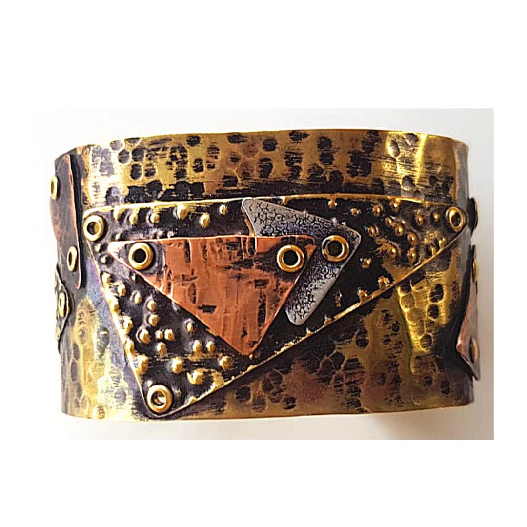 dimpled bracelets