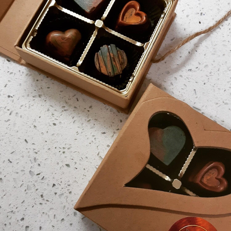 CHOCARLAT Bonbons 4Piece Assortment ▪︎LimitedEdition