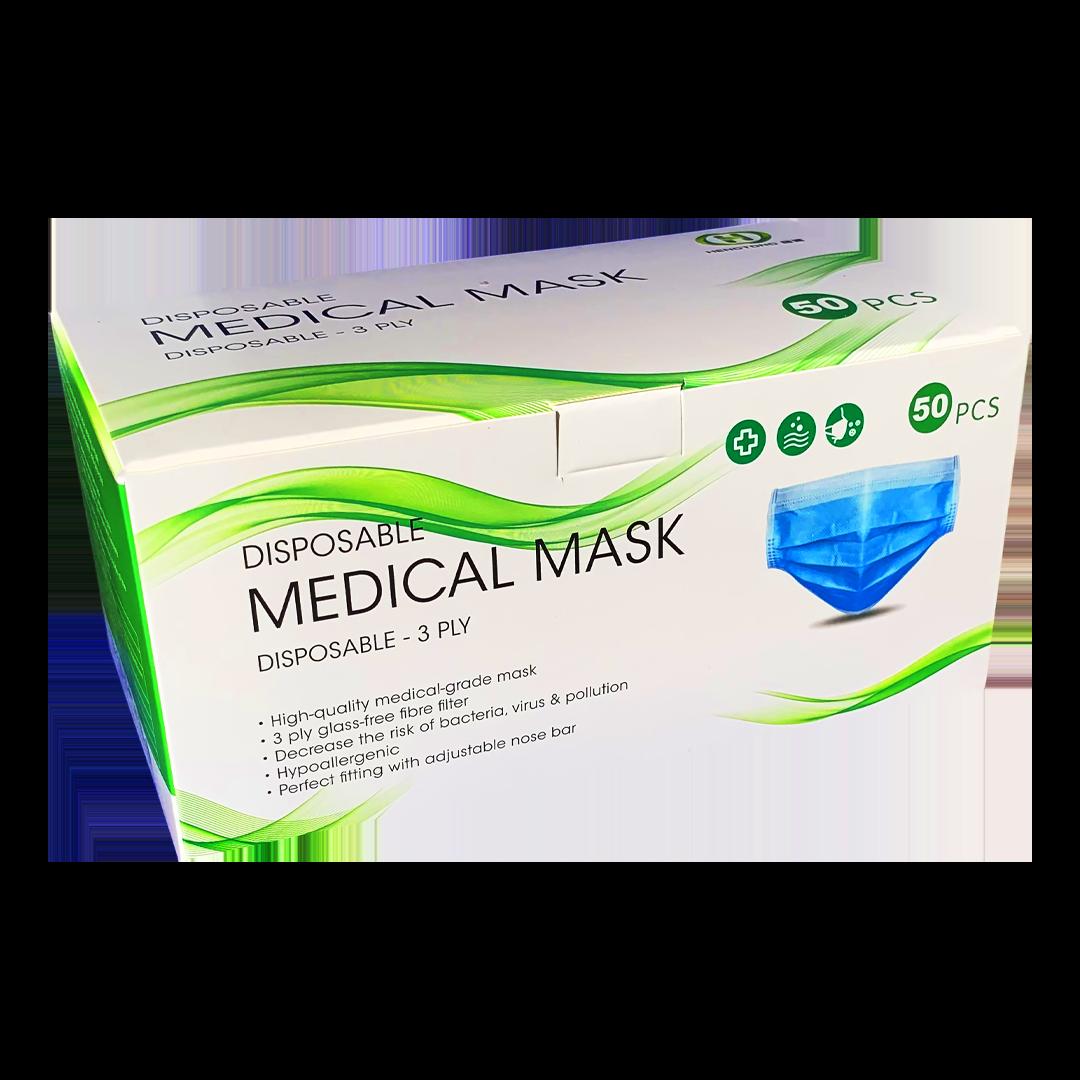 Blue Medical Disposable Masks