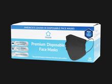 PREMIUM Black Medical Disposable Masks