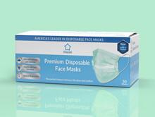 PREMIUM Green Non-Medical Disposable Masks