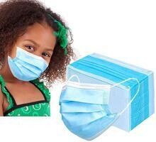 Kids Disposable 3-ply Face Masks