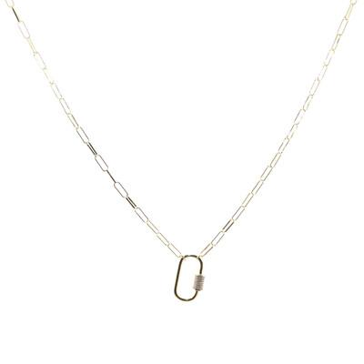 BB Lila Break the chain Necklace
