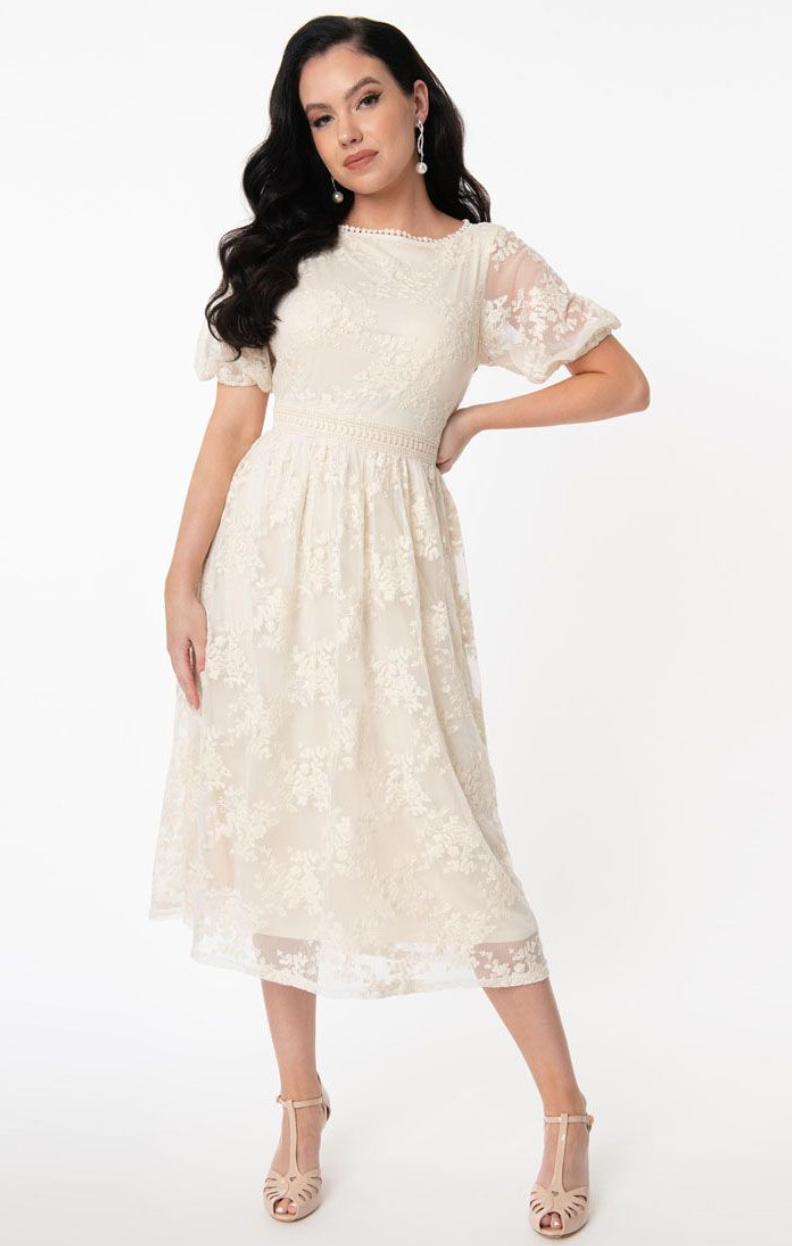 UV Lace Andie Midi dress